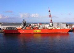 "Diving support vessel ""Orelia"""